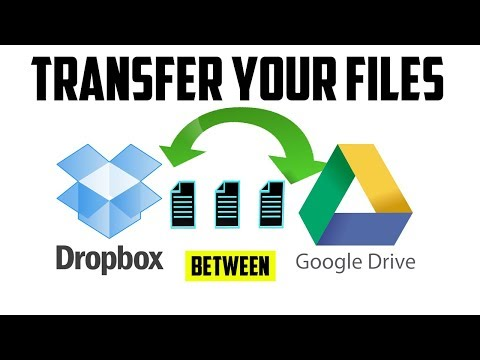 How To Transfer Files Between Dropbox and Google Drive ...