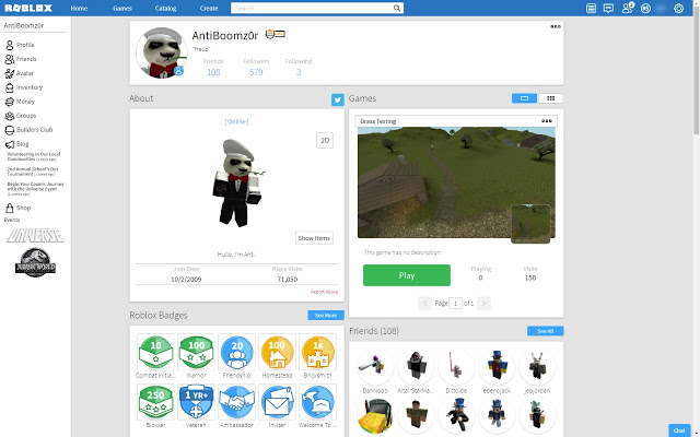 Roblox Chrome Extensions Small Servers How To Scroll Through Server Pages Fast In Roblox With Google Chrome Add On Roblox Bluevelvetrestaurant Com