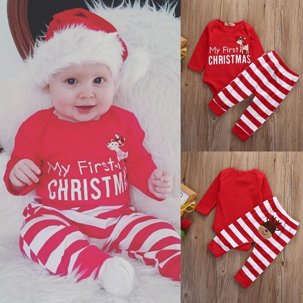 babys first christmas outfit boy-3
