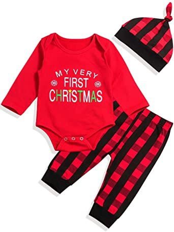 babys first christmas outfit boy-4