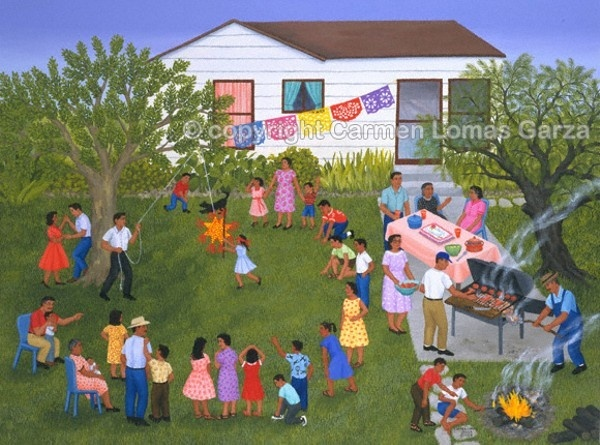 carmen lomas garza is a painter who grew up in-2