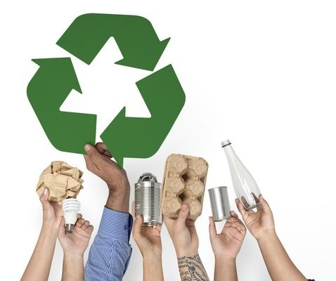 explain how recycling practices can lead to environmental sustainability.-0