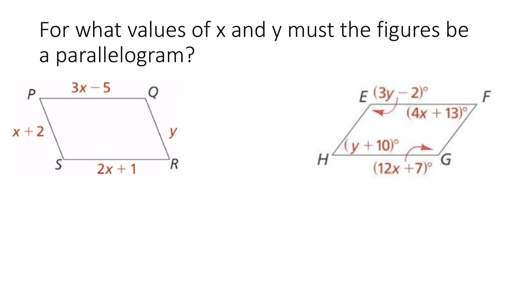 figure cdef is a parallelogram. what is the value of r? 2 3 4 5-2