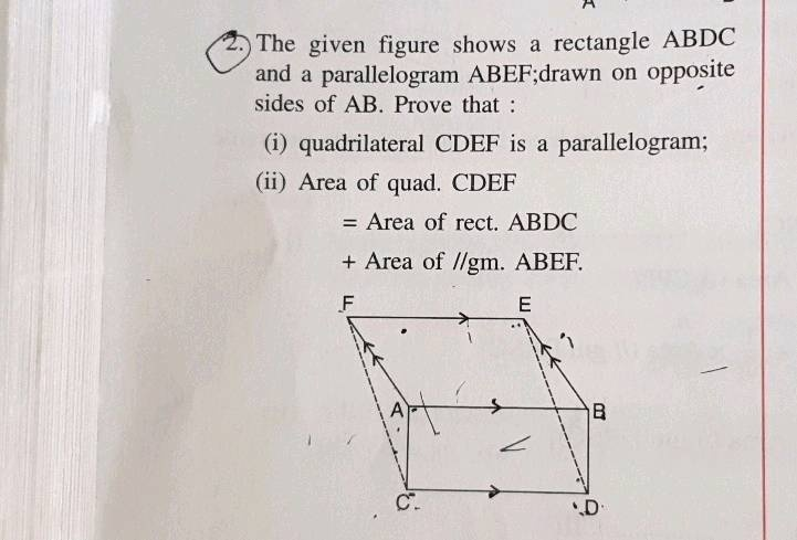 figure cdef is a parallelogram. what is the value of r? 2 3 4 5-3