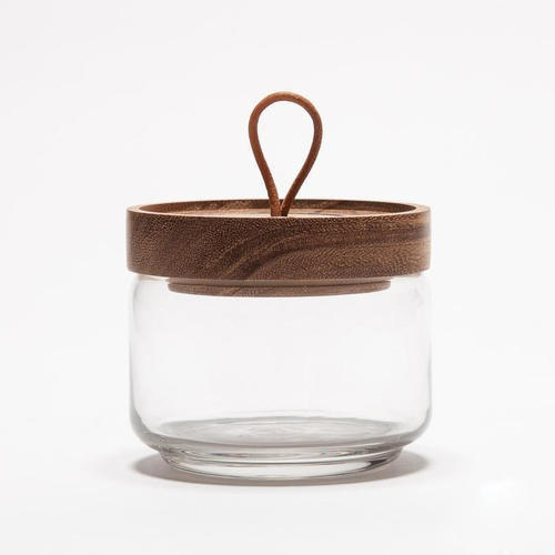 glass canisters with wood lids-2