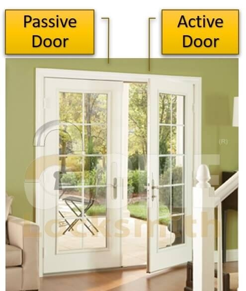 how can an area be made secure from a non-secured area via two interlocking doors to a small room?-1