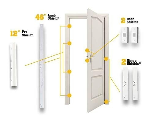 how can an area be made secure from a non-secured area via two interlocking doors to a small room?-3