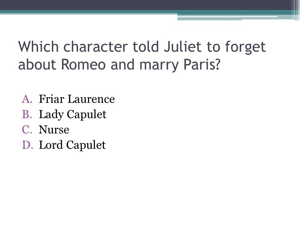 how does friar laurence contribute to the catastrophe in romeo and juliet? check all that apply.-3