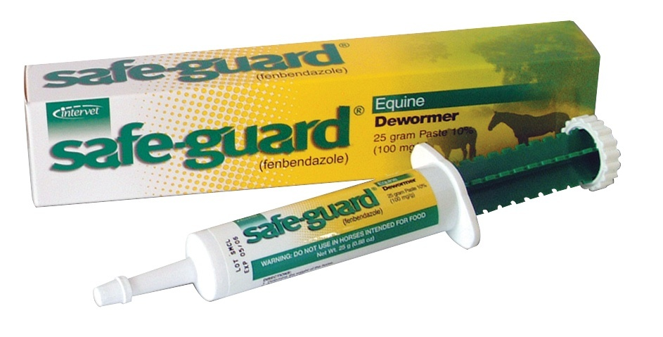 how much safeguard horse wormer to give a dog-0