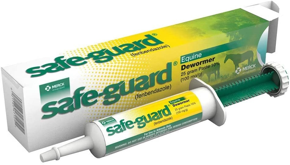 how much safeguard horse wormer to give a dog-3