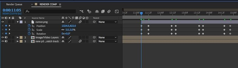 how to add keyframe in after effects-3