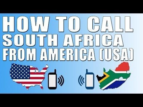 how to call south africa from usa-2