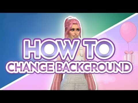 how to change cas background sims 4-0