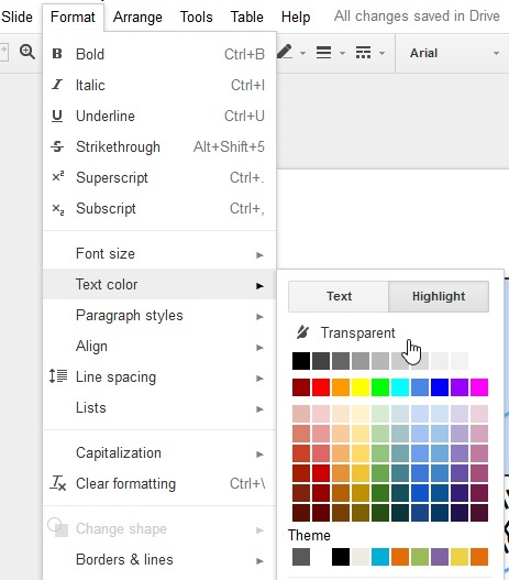 how to change opacity in google slides-1