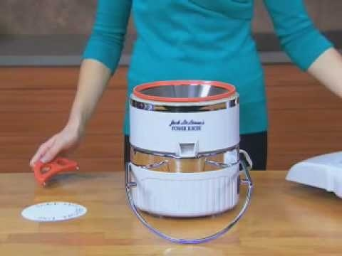 how to clean jack lalanne power juicer-1