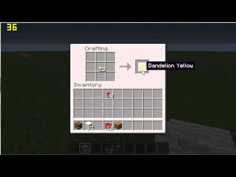 how to dye a bed in minecraft-0