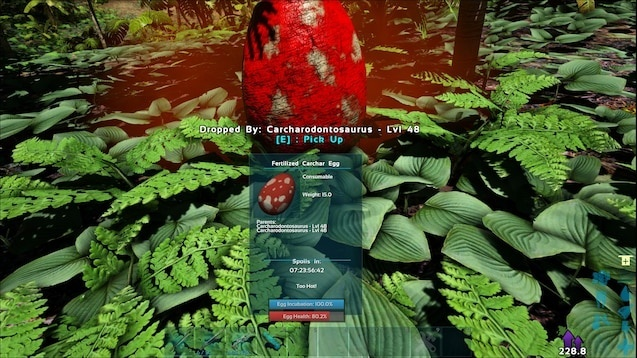 how to fertilize an egg in ark-3