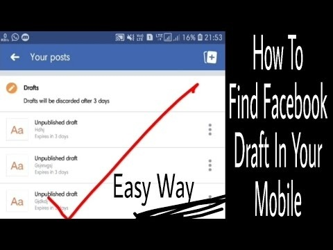 how to find a draft on facebook-1