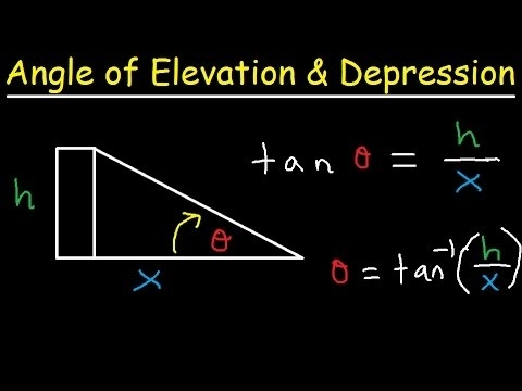 how to find the angle of elevation-0