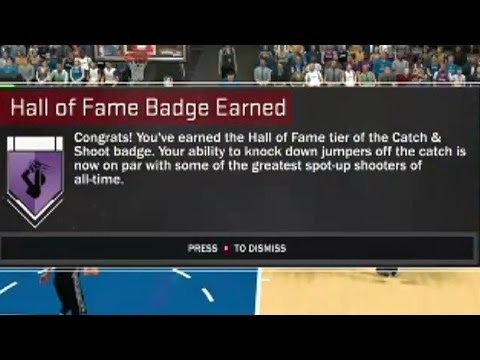 how to get catch and shoot badge 2k17-4