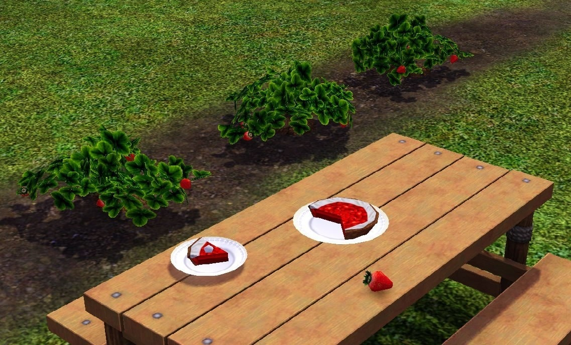 how to get strawberries in sims 4-0