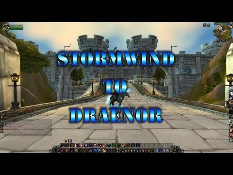 how to get to draenor from stormwind-0