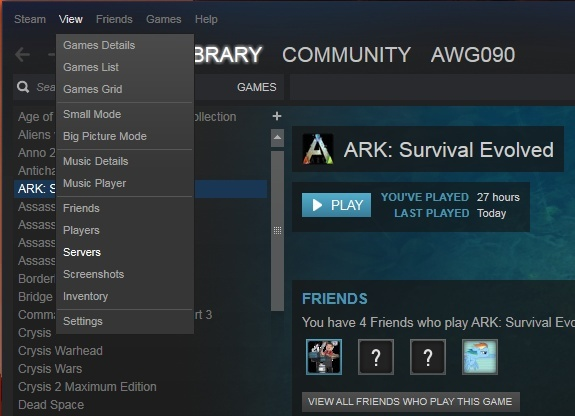 how to join an ark server by ip-0