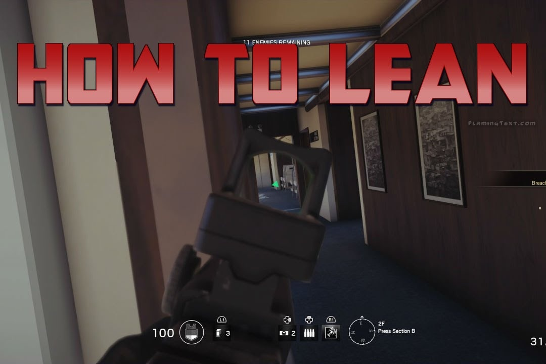 how to lean in rainbow six siege-0