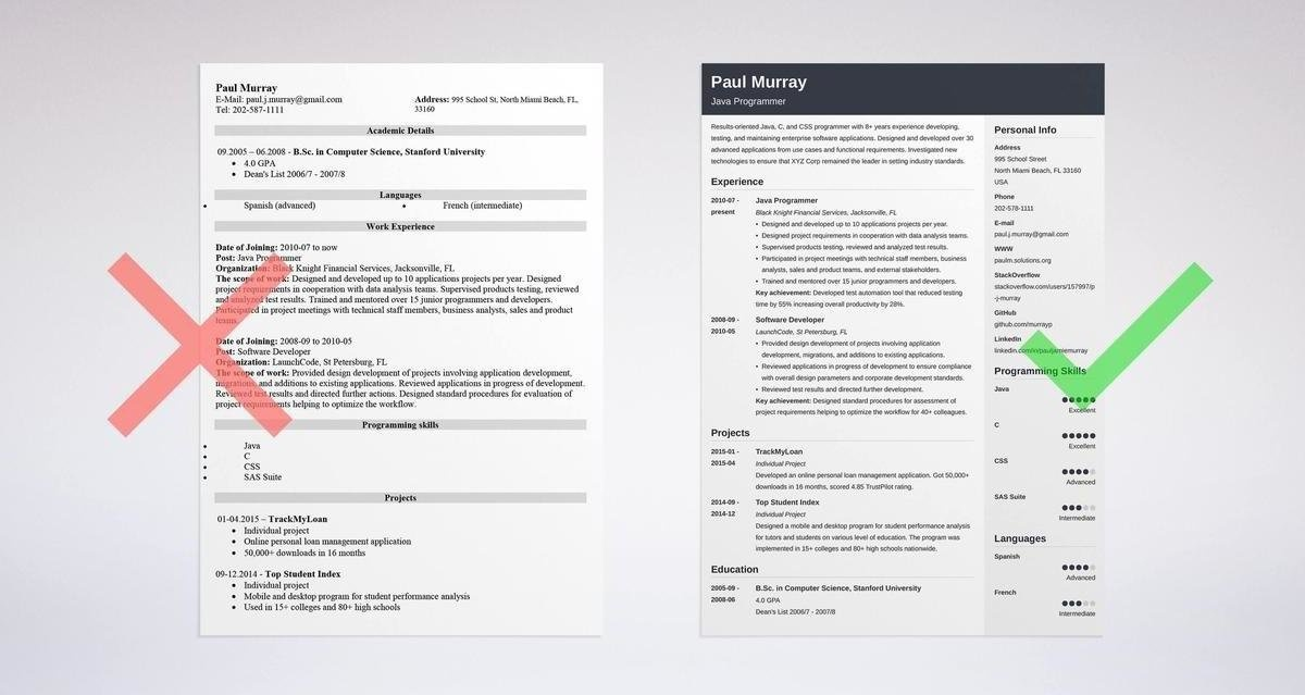 how to list programming languages on resume-3