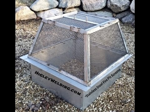 how to make a fire pit screen-2