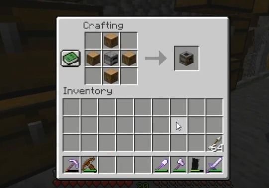 how to make a smoker in minecraft-0