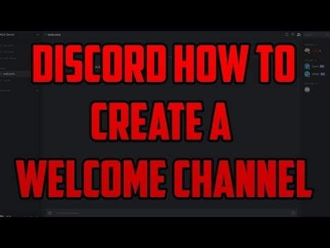 how to make a welcome channel in discord-0
