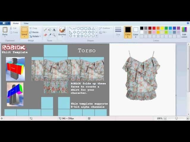 how to make clothes on roblox 2017-2