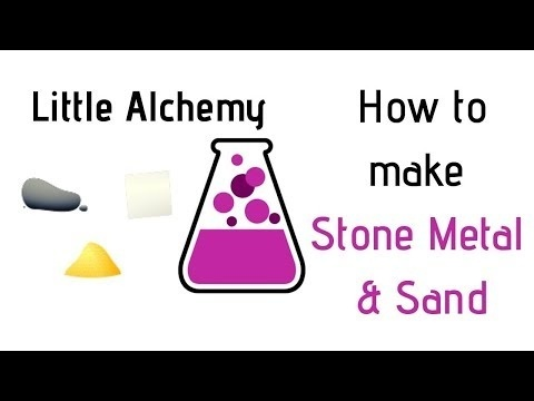 how to make stone in little alchemy-1