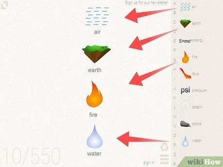 how to make stone in little alchemy-3