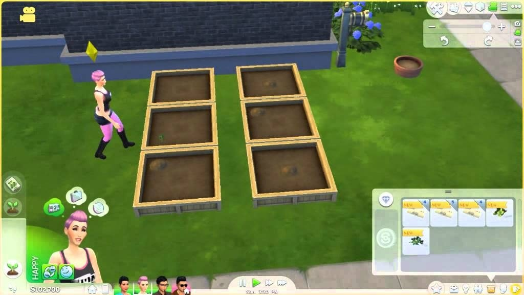 how to plant seeds in sims 4-0