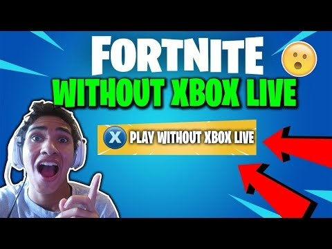 how to play fortnite without xbox live-3