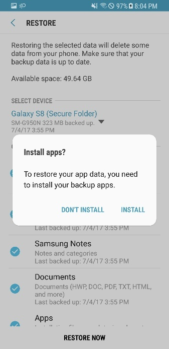 how to recover photos from secure folder-4