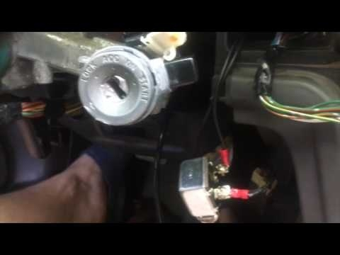 how to remove ignition lock cylinder without key-0