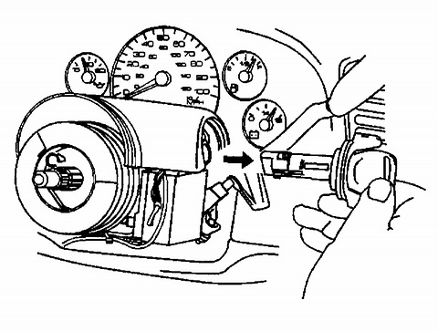 how to remove ignition lock cylinder without key-2