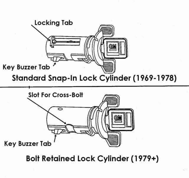 how to remove ignition lock cylinder without key-3