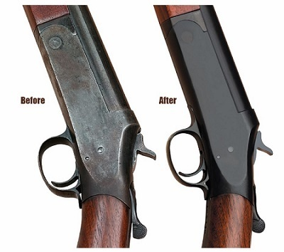 how to remove rust from a gun without damaging bluing-1