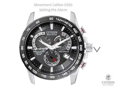 how to set time on citizen eco drive radio controlled-0