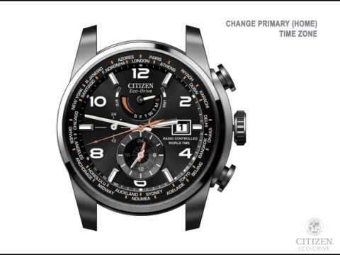 how to set time on citizen eco drive radio controlled-4