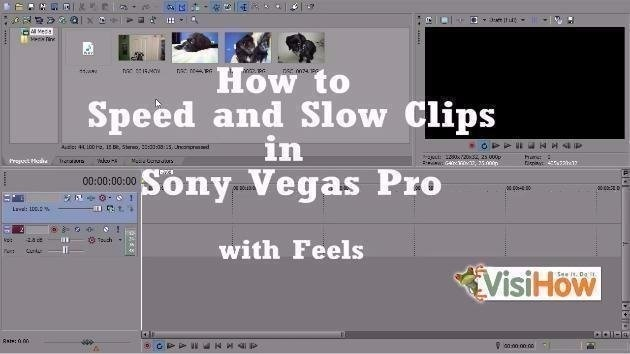 how to speed up video in sony vegas-2