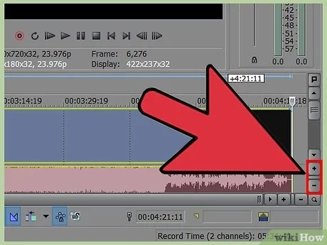how to speed up video in sony vegas-4