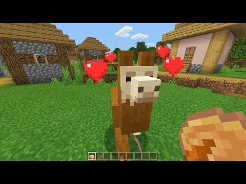how to tame a llama in minecraft-0