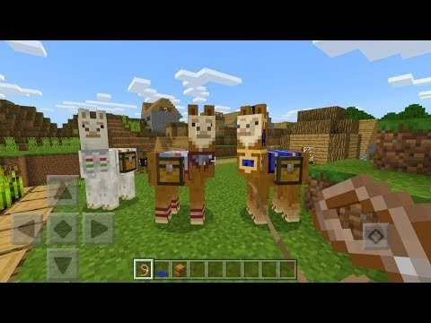 how to tame a llama in minecraft-1