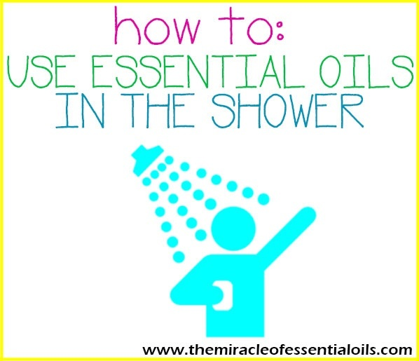 how to use essential oils in the shower-1