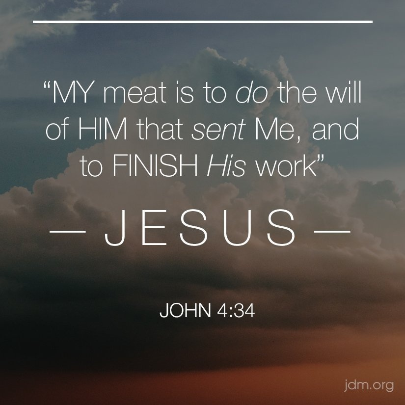 my meat is to do the will of him who sent me-3